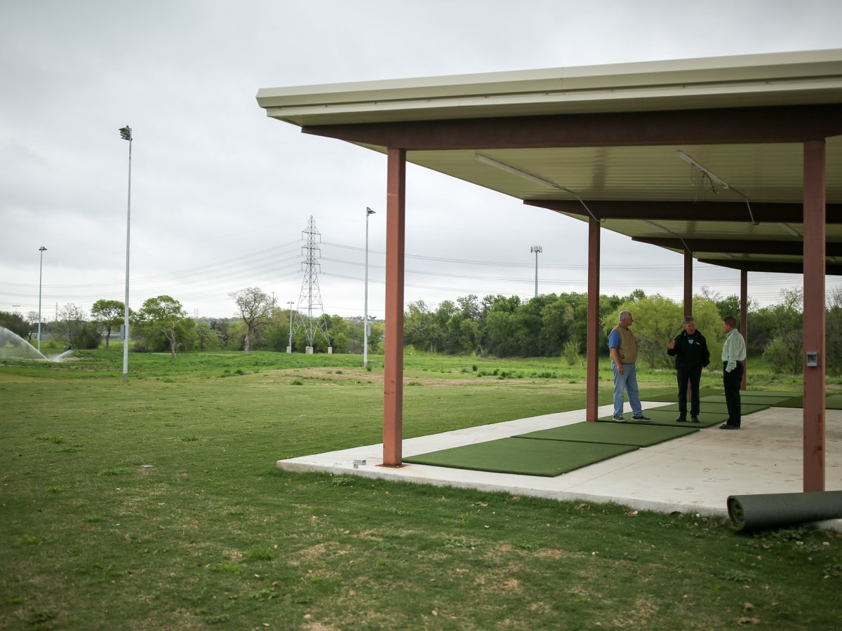 Renovations continue at San Pedro Driving Range & Par 3 Golf Course.