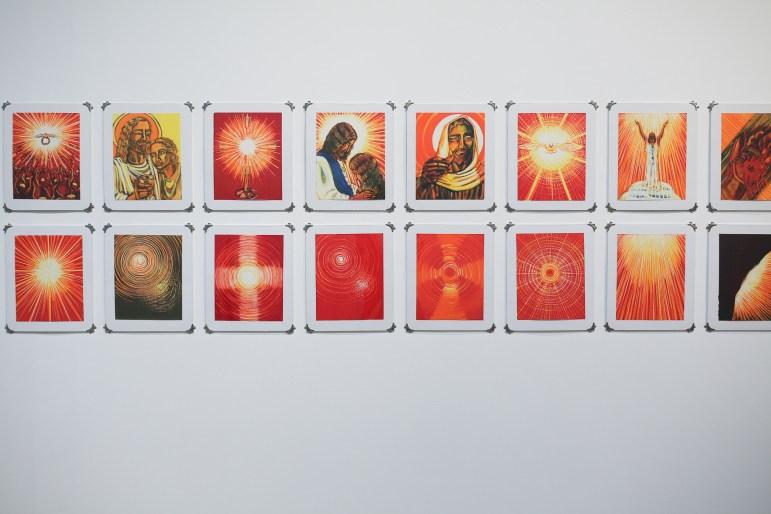 40 Days with Jesus, Suite of 80 by Ana Laura de la Garza.