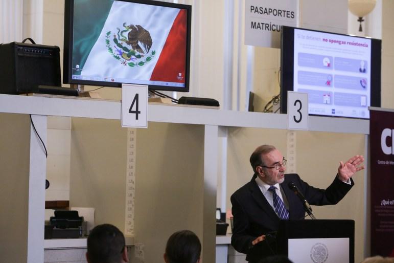 Mexican Foreign Affairs Undersecretary for North America Carlos Sada