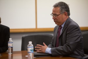 San Antonio City Attorney Andy Segovia.