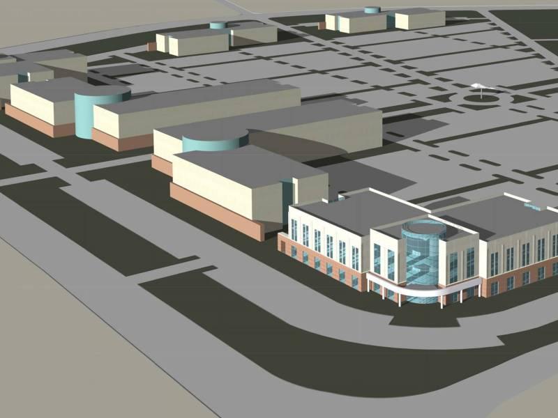 Port San Antonio Project Tech building rendering