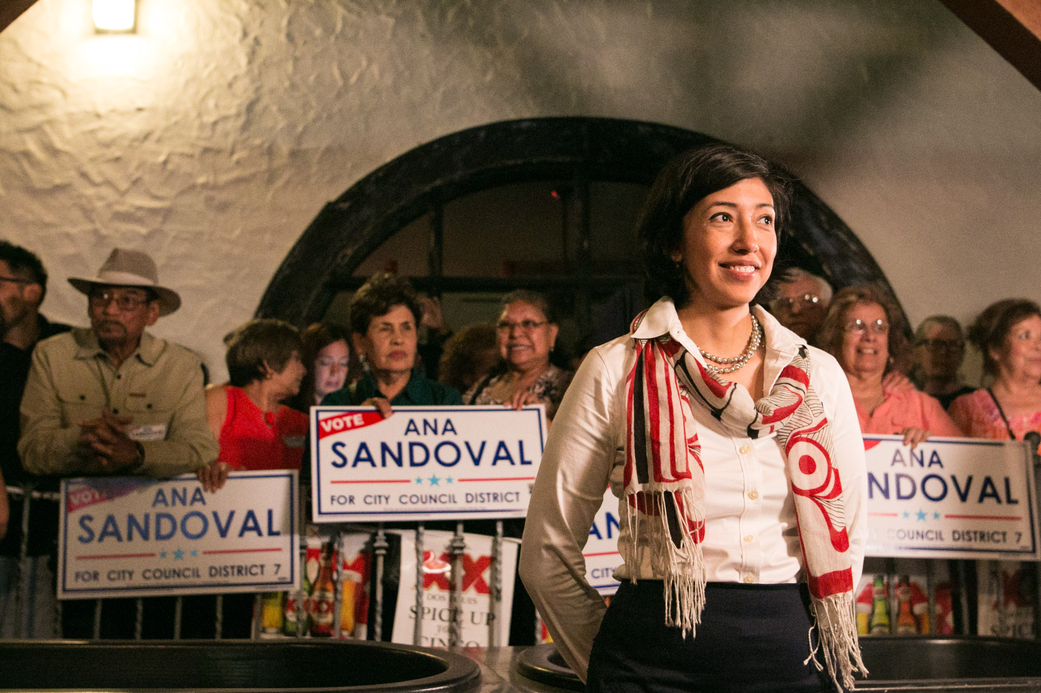 Ana Sandoval received more than 50% of the vote in the 2017 general election.