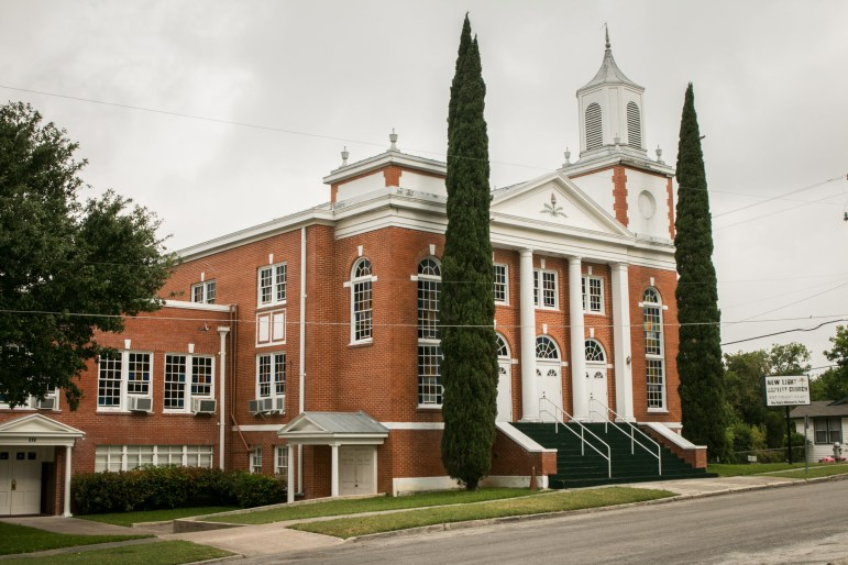 New Light Baptist Church is located at 607 Piedmont Ave.