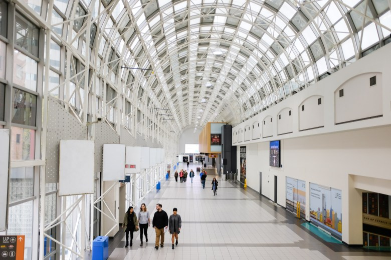 Union Station in downtown Toronto connects thousands of commuters everyday.