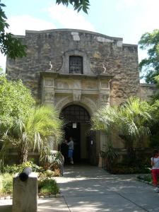 The Alamo Museum was converted into a gift shop.