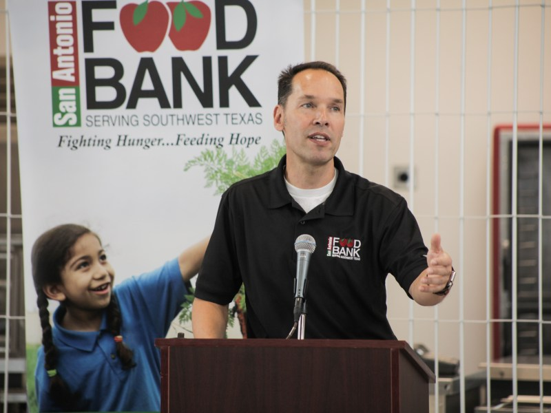 San Antonio Food Bank President & CEO Eric Cooper discusses the importance of the Food Bank's role in San Antonio.
