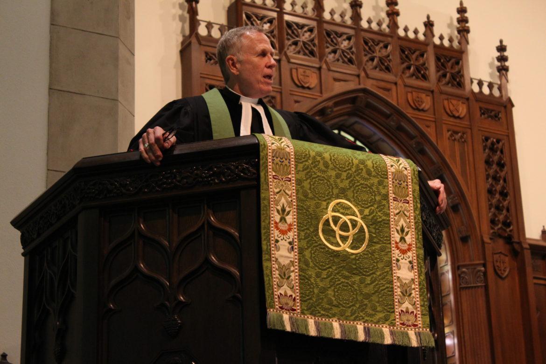 Reverend Ron Scates.
