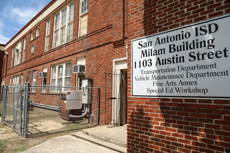 The Milam Building at 1103 Austin St. is part of the area that GrayStreet Partners is redeveloping across Broadway from the Pearl.