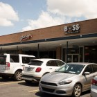 Boss Bagel is located in the Sunset Ridge shopping plaza.