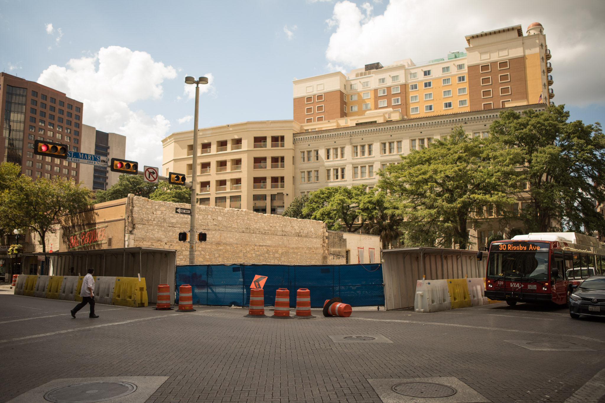 Hilton Canopy Hotel is under construction.