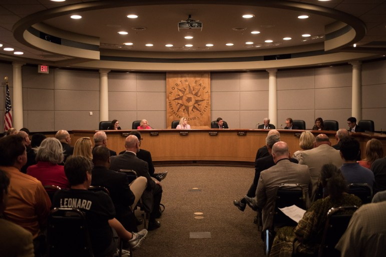 NEISD board convenes to discuss the possibility of changing the name of Robert E. Lee High School.
