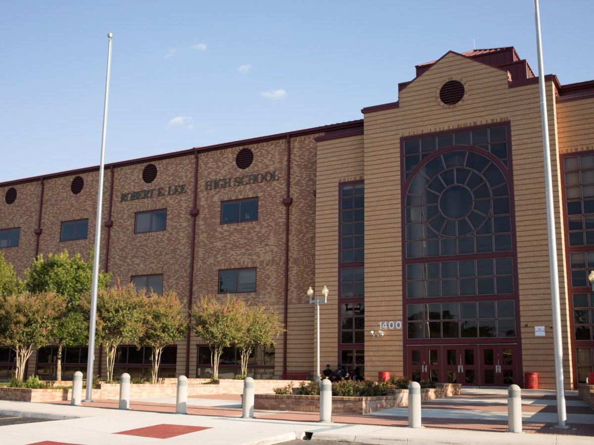 Robert E. Lee High School.
