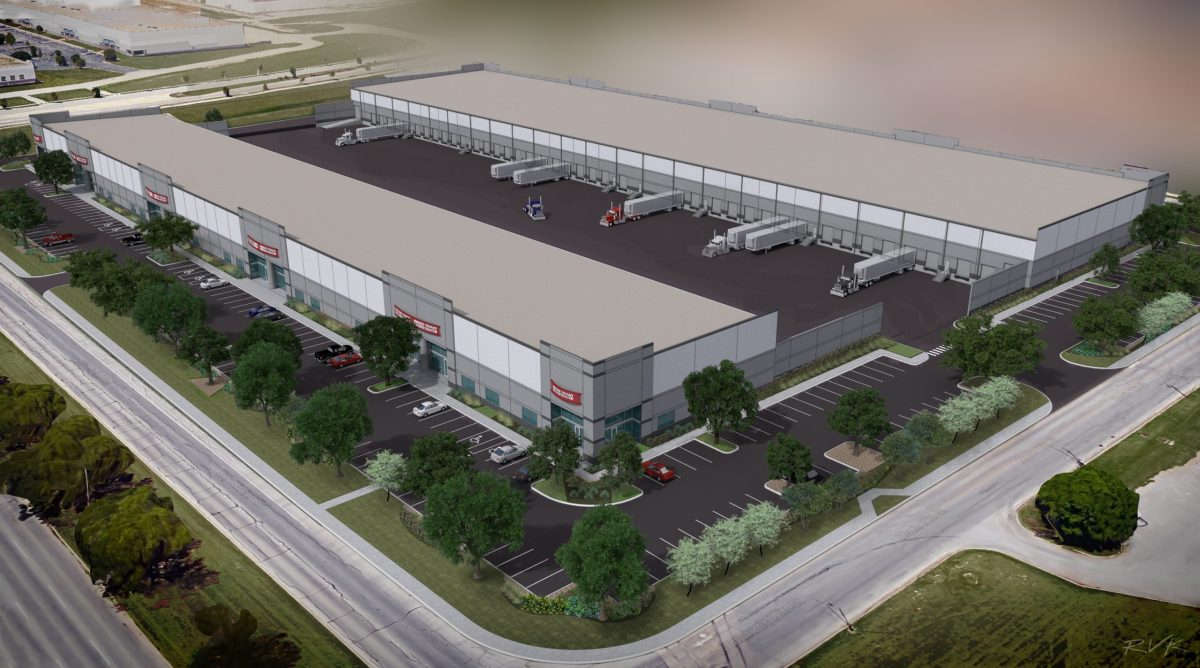 Rendering of the new Port San Antonio Building Complex