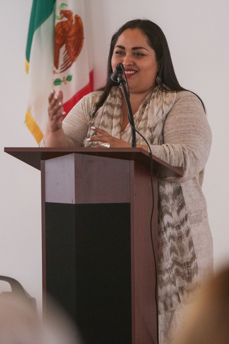 Mexican Consulate Reyna Torres.