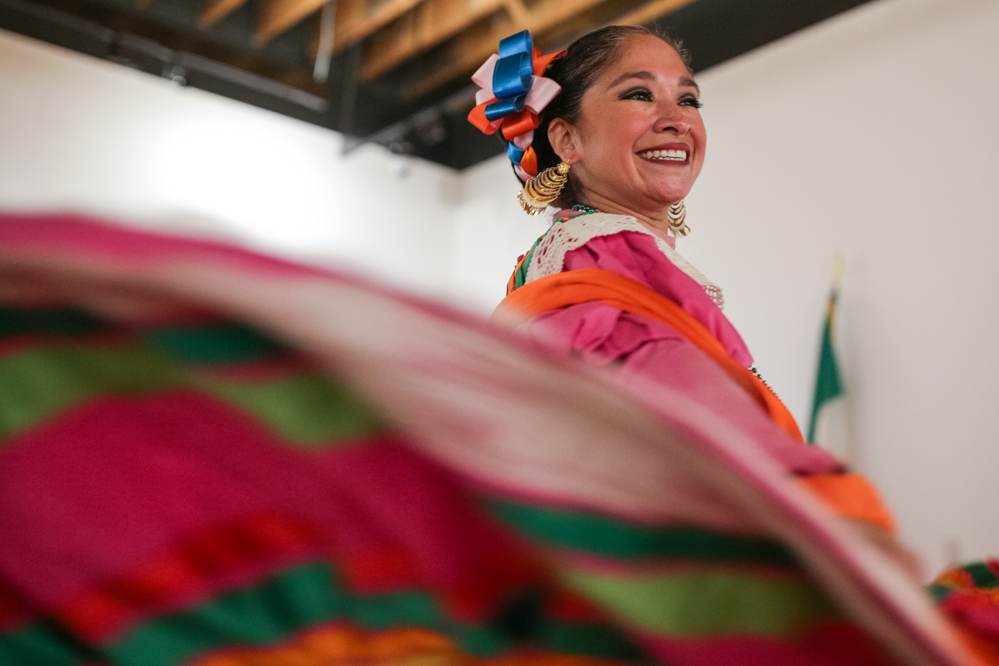 Guadalupe Dance Company dancer Denise Rios.