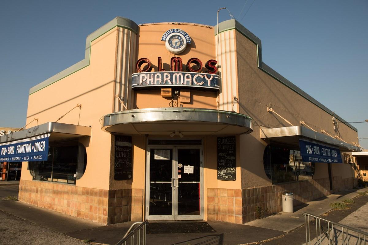 Olmos Pharmacy.