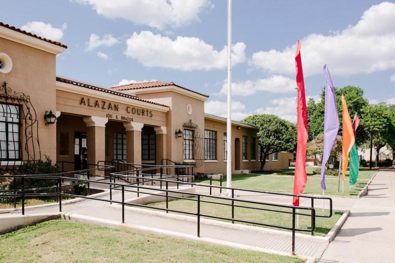 Alazan-Apache Courts.