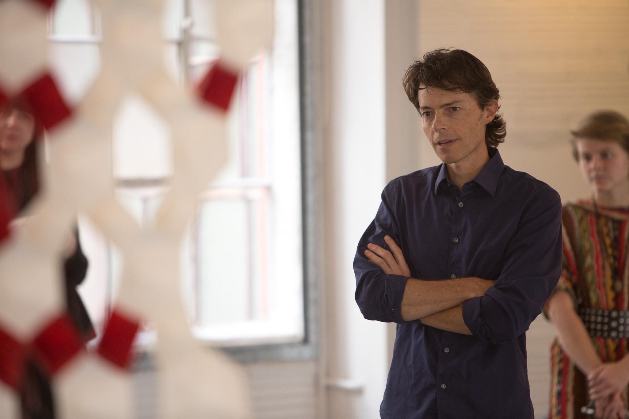 Curator Stuart Allen.