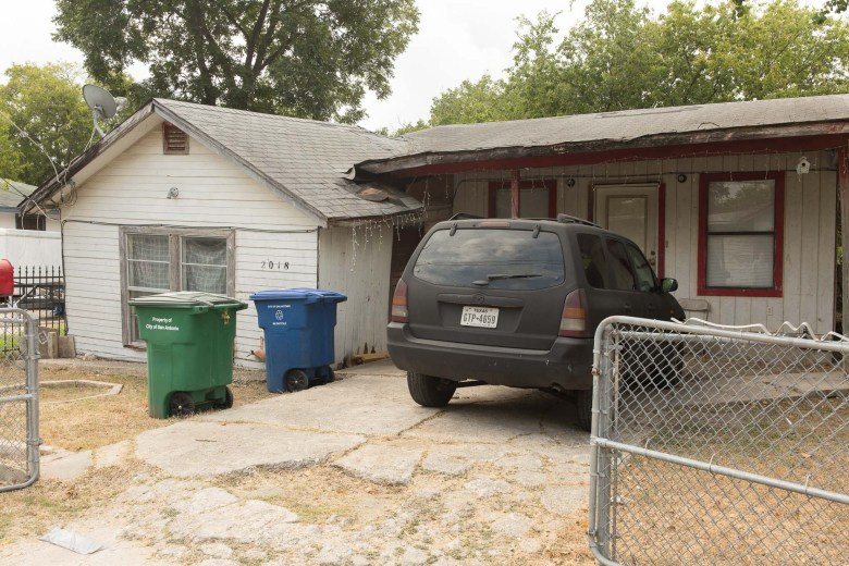Foundation issues are common throughout a large portion of housing stock in San Antonio's Westside.
