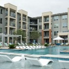 The pool at Kennedy Apartments.