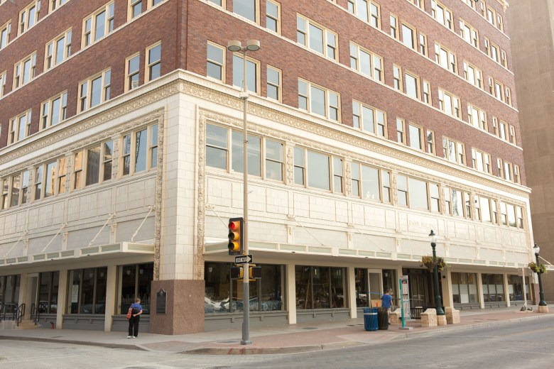 Rosella Coffee will be located at the Northeast corner of the historic Rand Building.