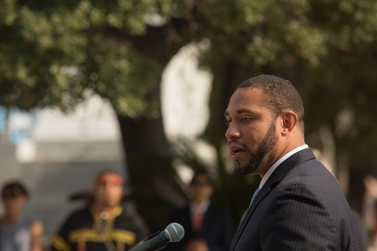 Bexar County Commissioner Tommy Calvert.