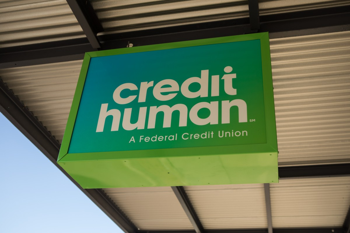 A Credit Human branch is located at St. Marys Street and Alamo Street.