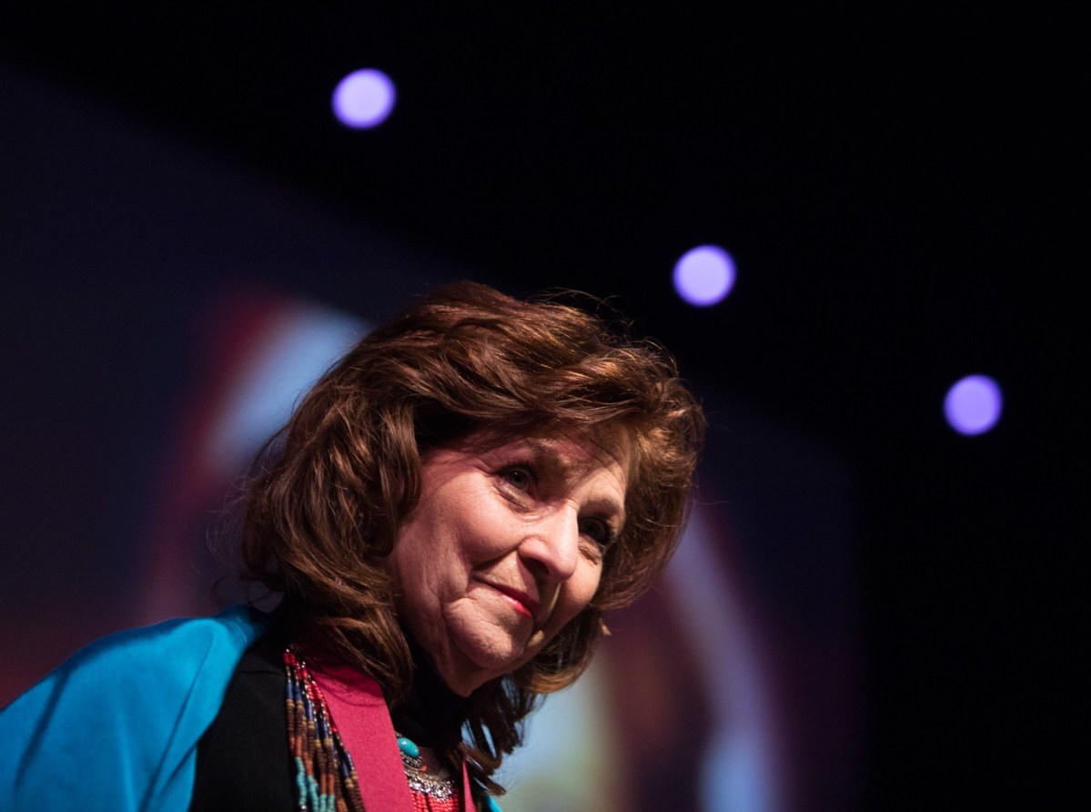 UTSA Professor of Transformative Children's Literature Carmen Tafolla.