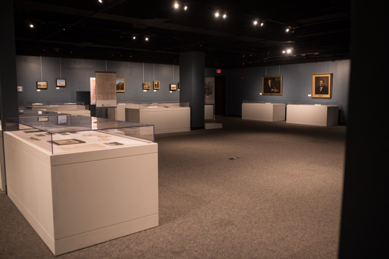 The Presidio Gallery in the Bexar County Archives Building.