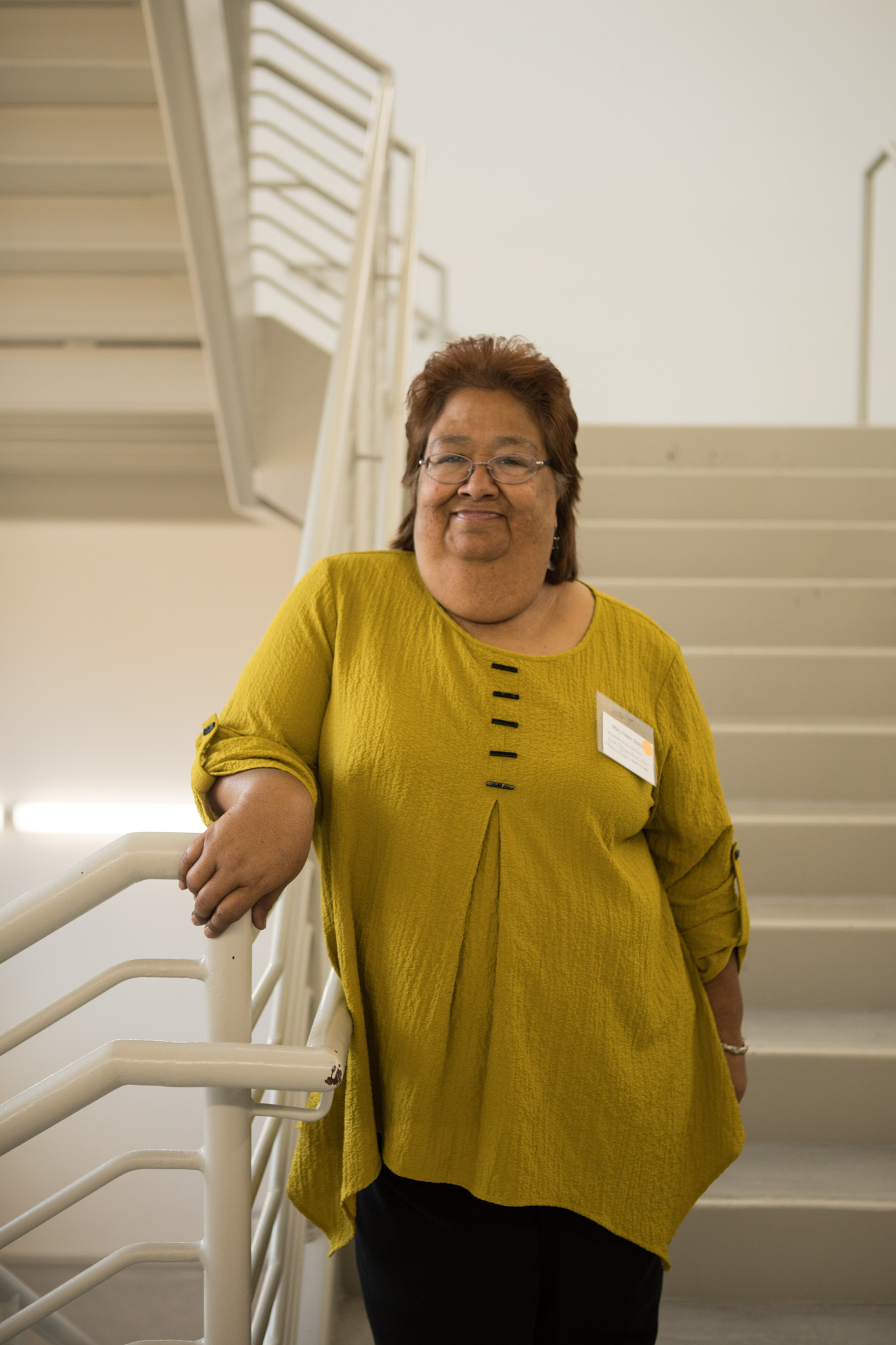 Mujeres Unidas Executive Director Mary Helen Gloria.