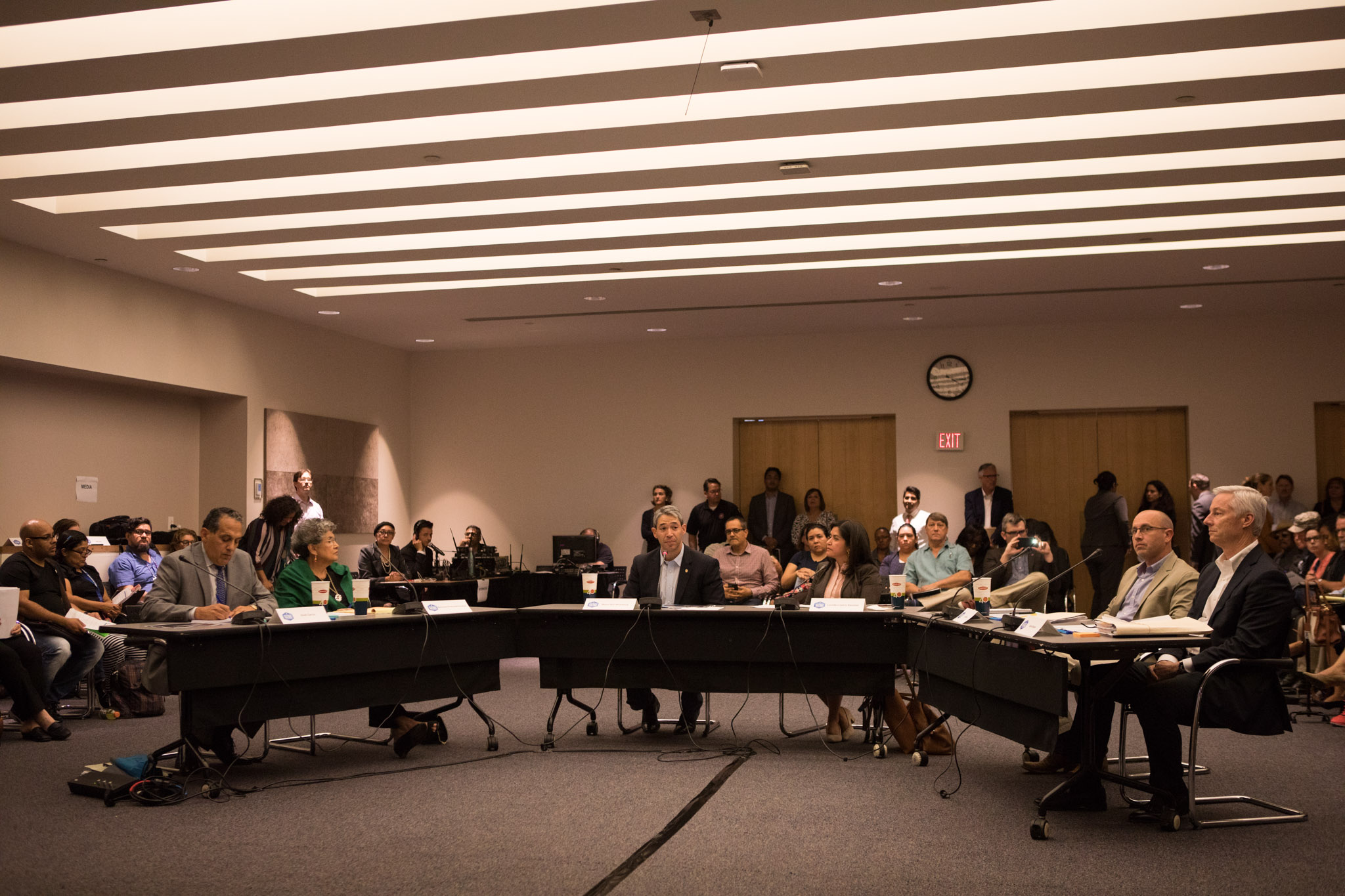 The Mayor's Housing Policy Task Force meets for the first time at San Antonio Central Library.