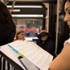 "(From left) Nyssa Arcos and Veronica Ramirez sing in ""VIA VIVA Cultural Adventure"" aboard the VIA VIVA Culture Bus."