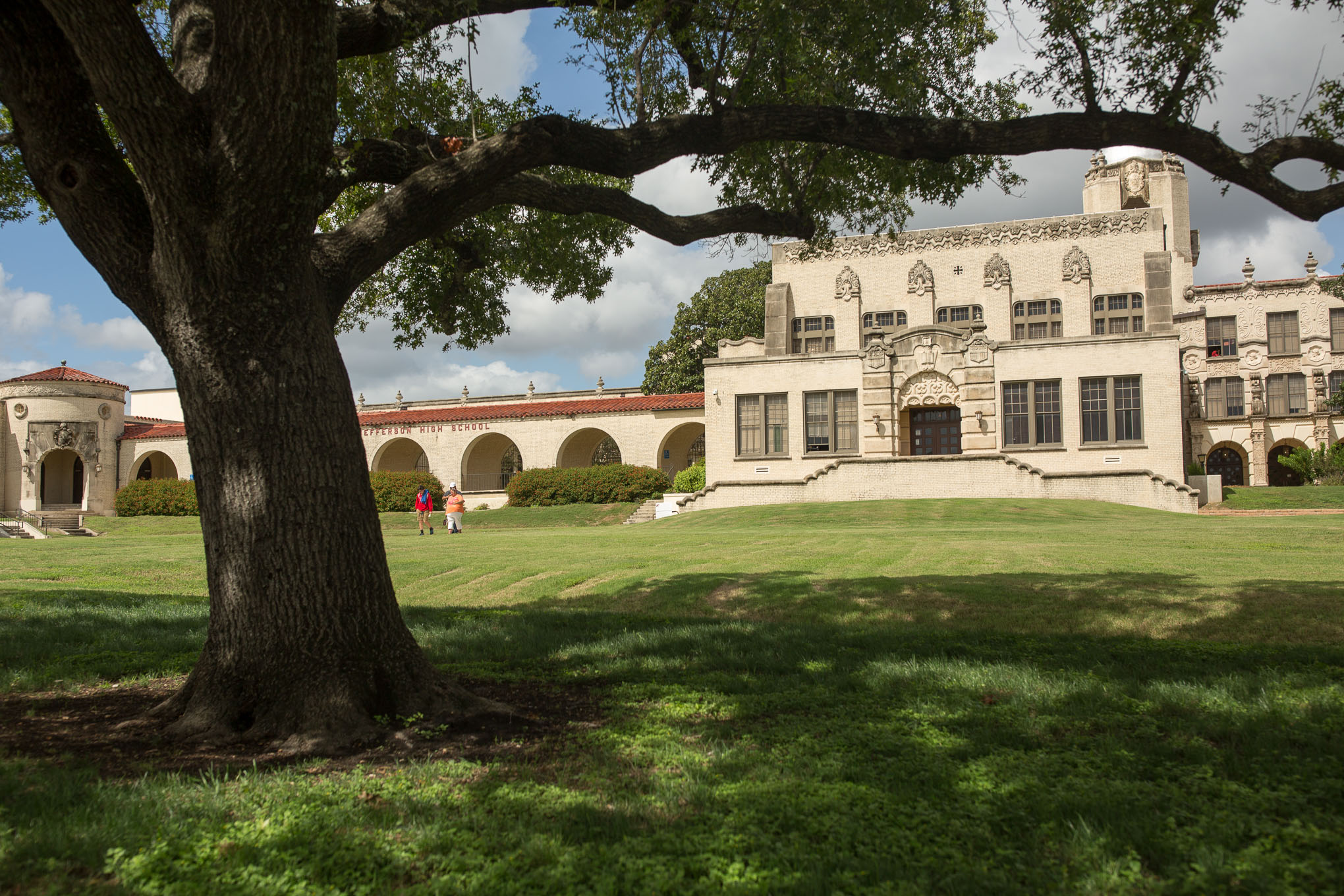 Thomas Jefferson High School.