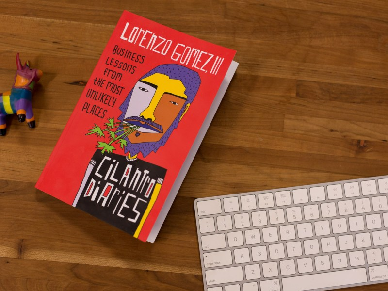 The Cilantro Diaries by Lorenzo Gomez.