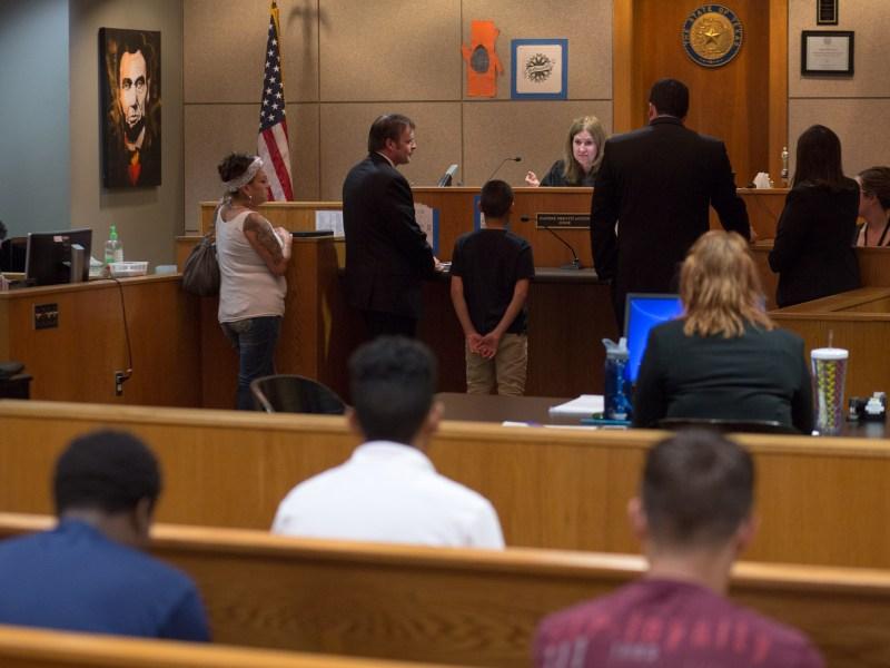 Mind Court led by Judge Daphne Previti Austin.