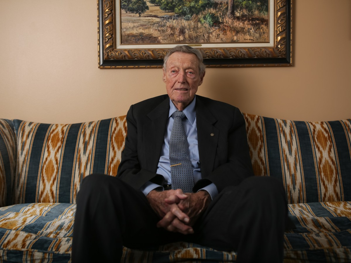 Tom Frost Chairman Emeritus of Frost Bank.