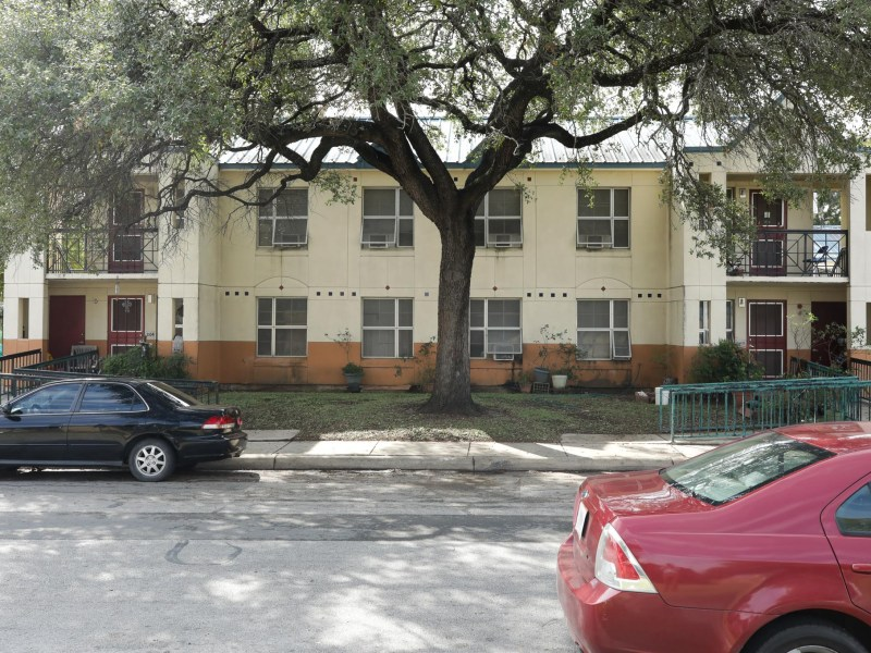 The Alazan Courts, San Antonio's oldest public housing stock which were built in 1939.
