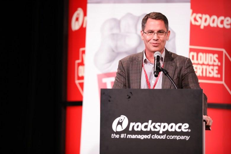 Rackspace CEO Joe Eazor.