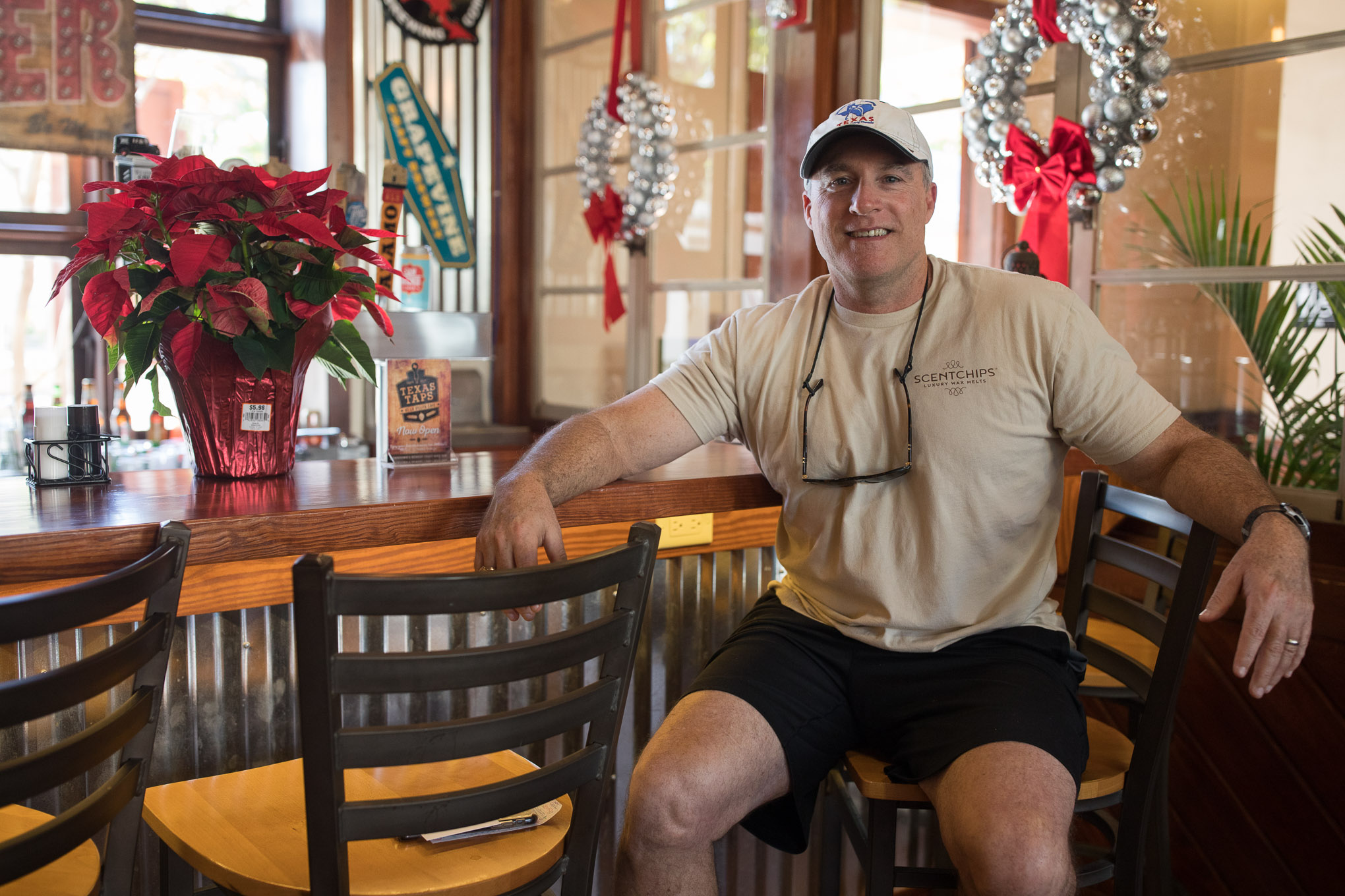 Barry Clark is a tenant and owner of two businesses at La Villita.