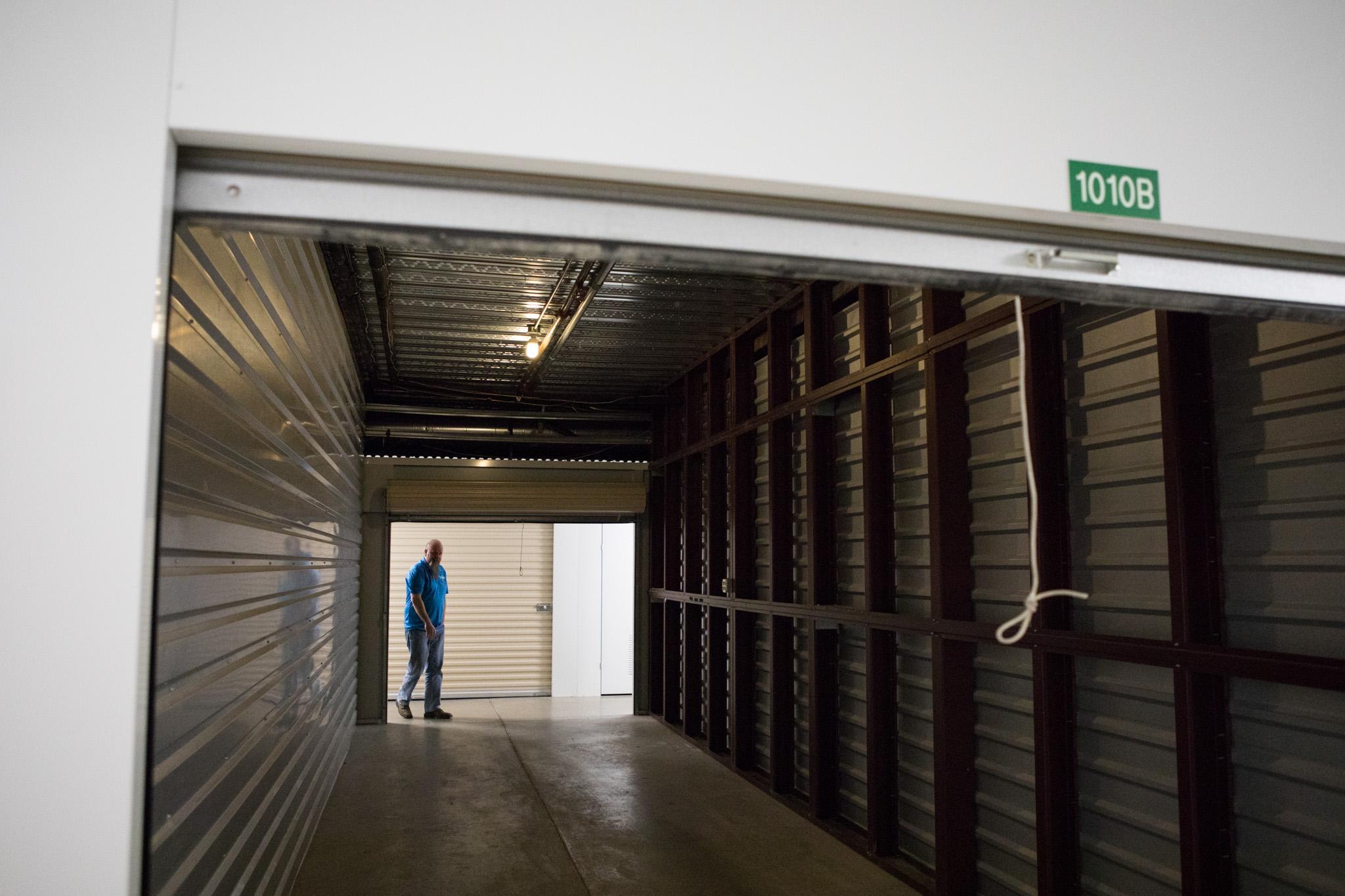 A 30' x 10' storage unit at SurePoint Self Storage.
