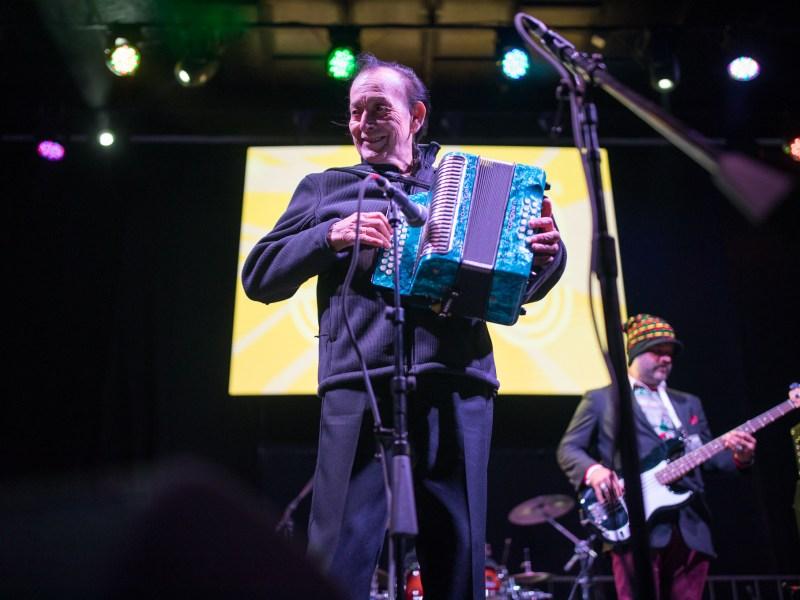 Flaco Jiménez Y Su Conjunto performs.