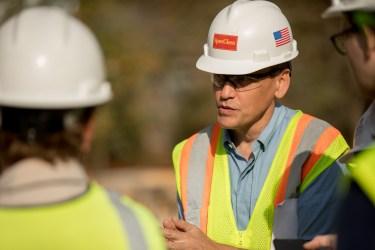 Robert Amerman, Executive Director of the San Antonio River Foundation.