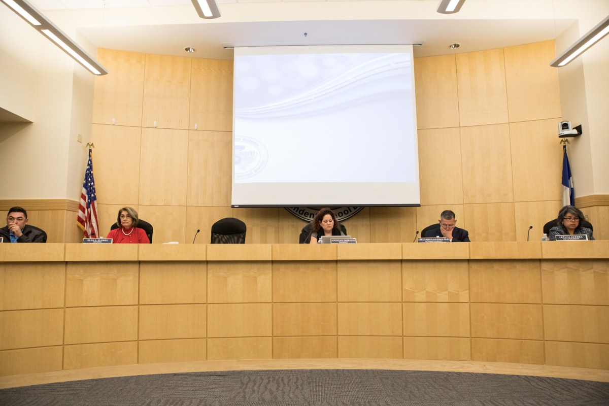 South San Antonio Independent School District board
