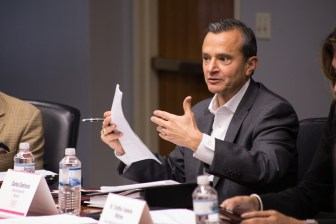 Tricentennial Commission Interim Executive Director Carlos Contreras