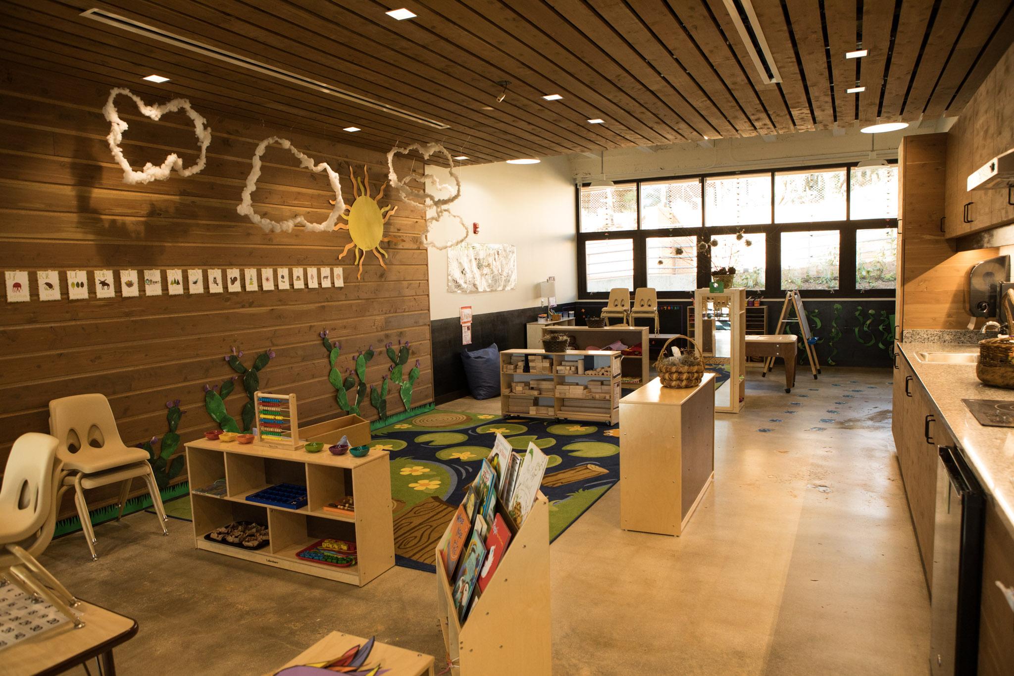 A Will Smith Zoo School classroom.