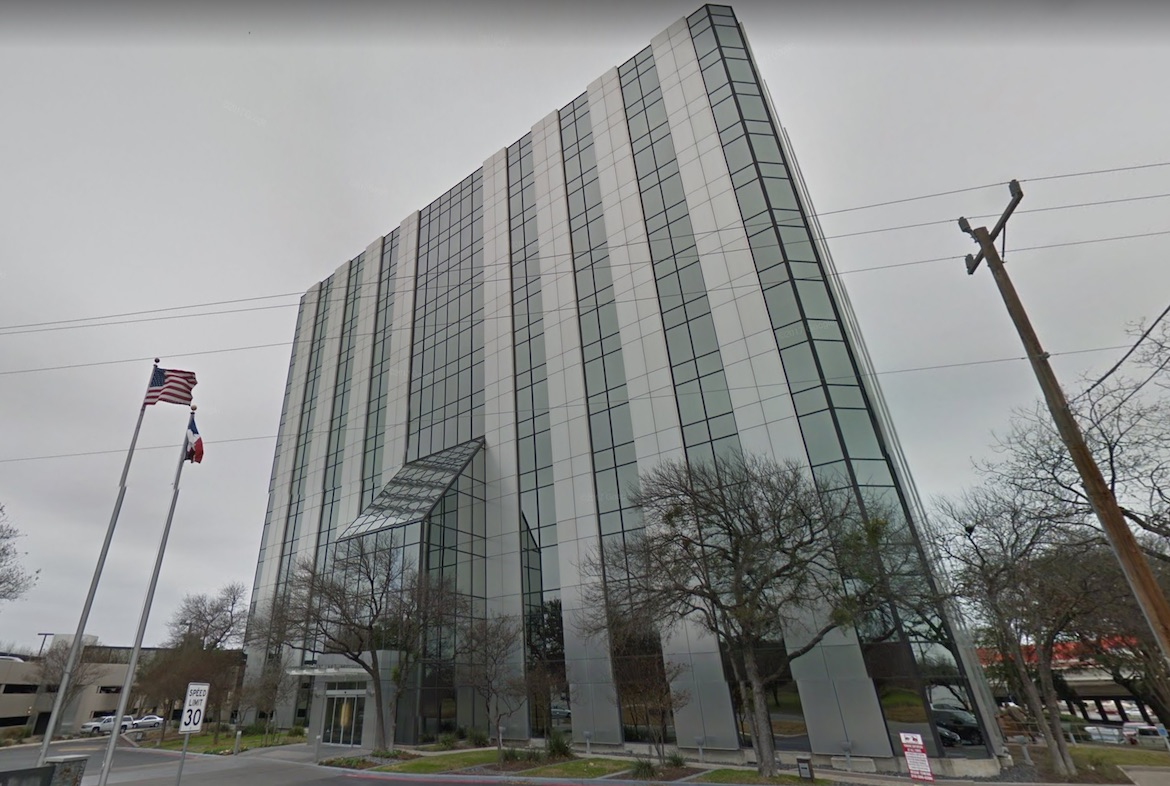 Harte Hanks has offices in a building at 9601 McAllister Fwy in San Antonio.