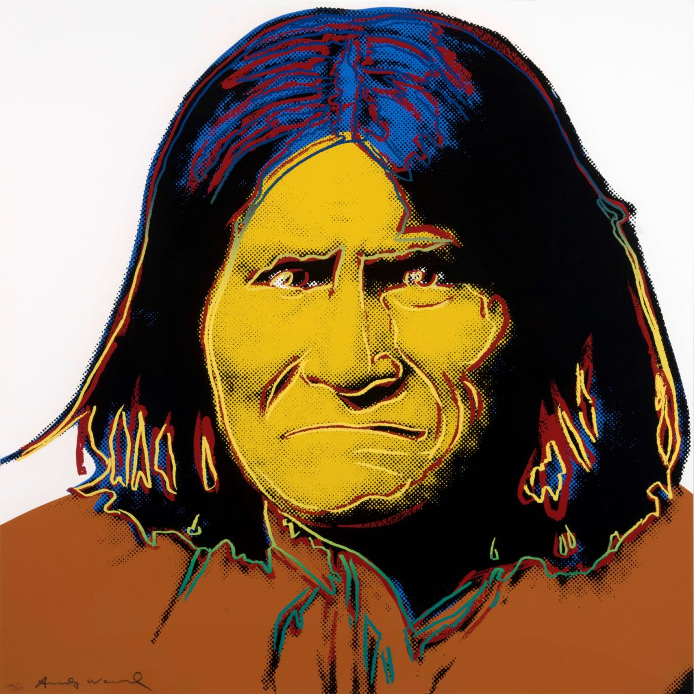 Andy Warhol, Geronimo, 1986