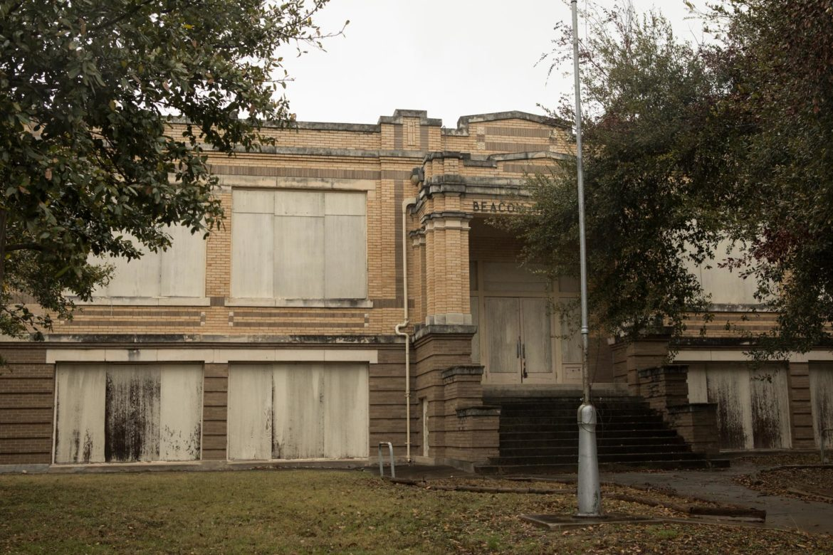 The Beacon Hill elementary school building constructed in 1915 is completely vacant.