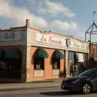 La Focaccia Italian Grill, located at 800 S. Alamo St., was once a gas station.