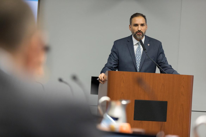 Economic Development Director Rene Dominguez.